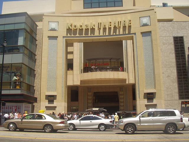Le Kodak Theatre, sur Hollywood Boulevard, où se déroulent les Oscars depuis 2002 – (CC) Jaime Sánchez Fanjul