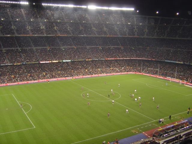 Le Camp Nou, antre du FC Barcelone - (CC) Christophe Lachnitt