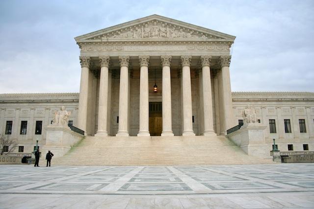 La Cour Suprême des Etats-Unis à Washington DC - (CC) Christophe Lachnitt