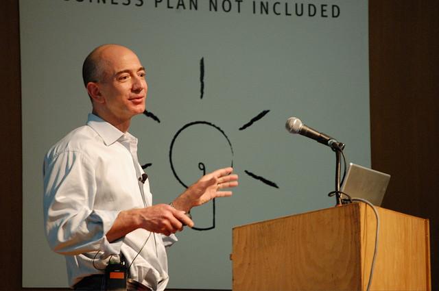 Jeff Bezos - (CC) aliasaria