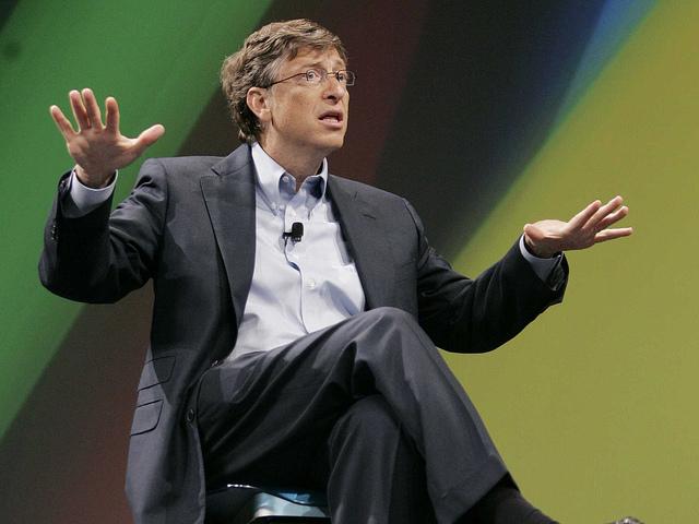 Bill Gates - (CC) Sam Churchill