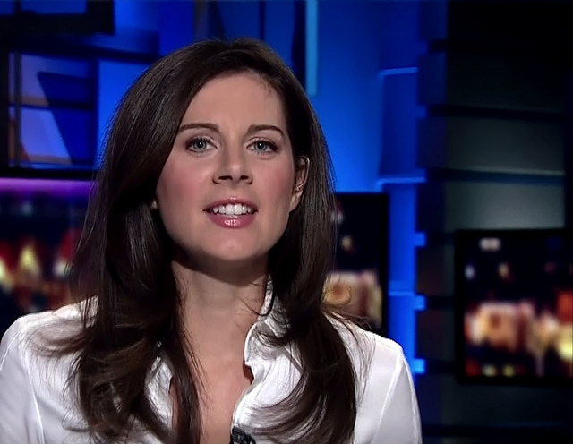 Erin Burnett, CNN's morning anchor, puts infotainment before news - (CC)  Redfield_5000