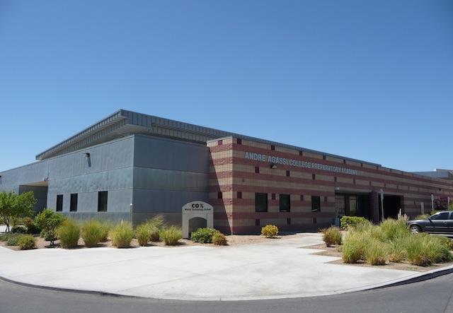 The Andre Agassi College Preparatory School, l'école pour les enfants défavorisés créée à Las Vegas par l'ancien champion - (CC) Christophe Lachnitt
