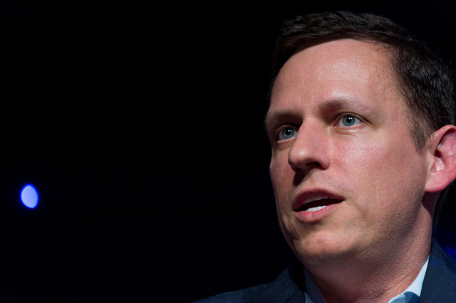 Peter Thiel - (CC) Fortune Live Media