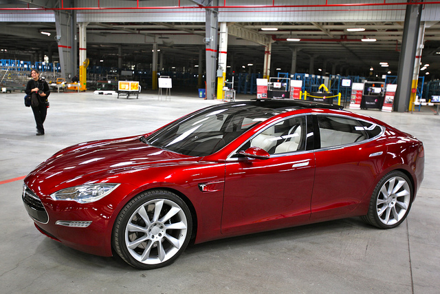 Tesla Model S - (CC) Steve Jurvetson