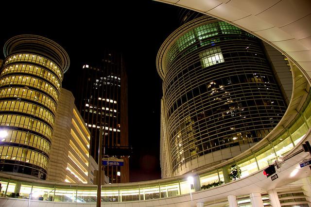 L'ancien siège d'Enron dans le centre de Houston - (CC) Alex