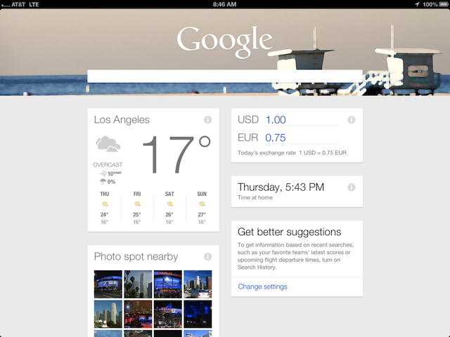 Google Now - (CC) Google