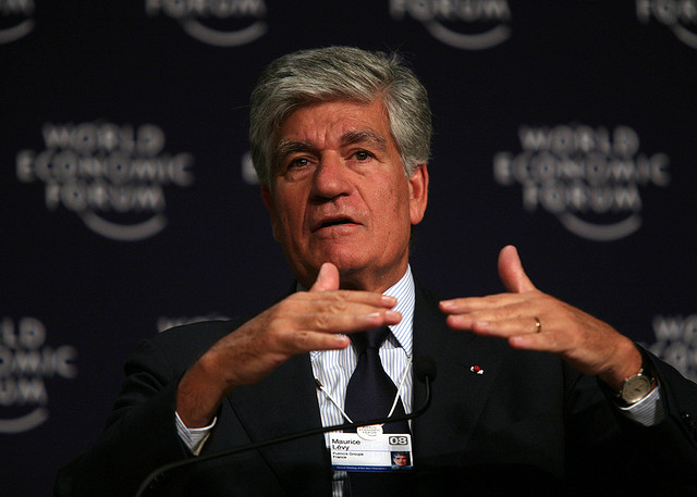 Maurice Lévy - (CC) World Economic Forum