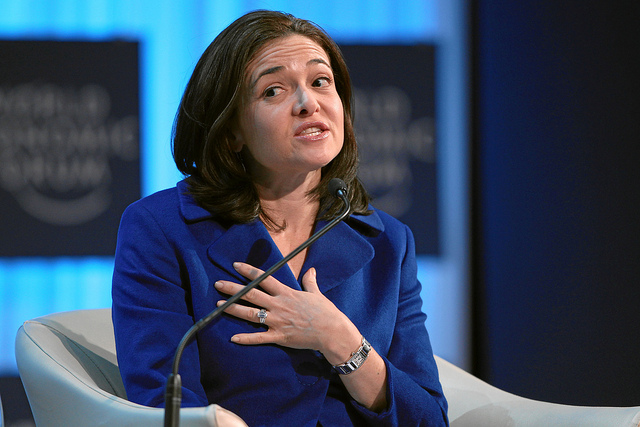 Sheryl Sandberg - (CC) World Economic Forum