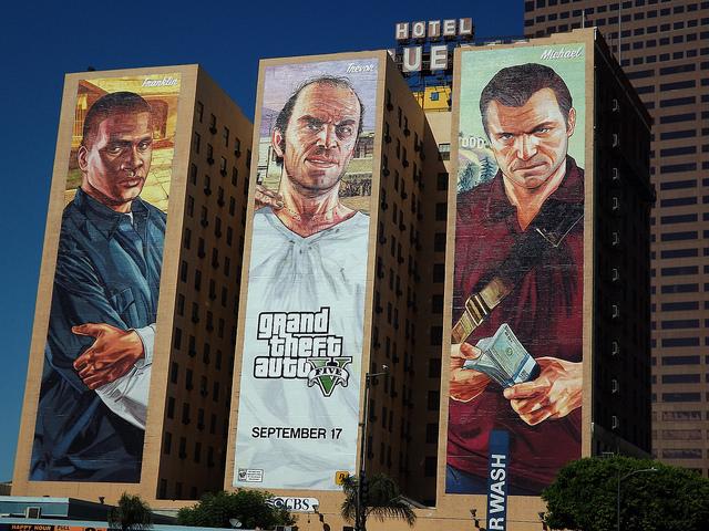 Publicité pour Grand Theft Auto - (CC) ATOMIC Hot Links