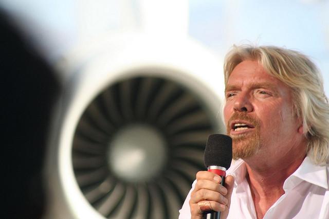 Richard Branson - (CC) Dave Malkoff