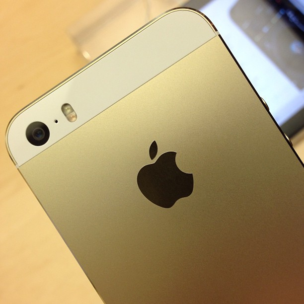 L'iPhone 5S Gold - (CC) Jon Fingas