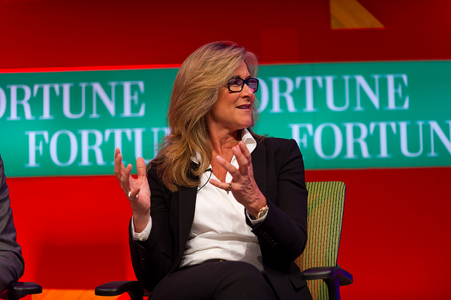 Angela Ahrendts - (CC) Fortune Live Media
