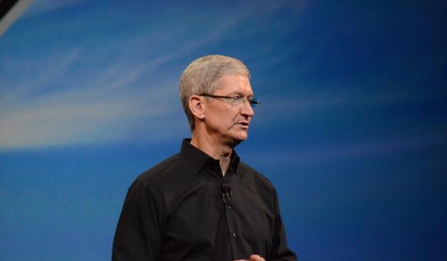 Tim Cook, hier soir, lors de la révélation de l'iPad Air - (CC) Stratageme.com