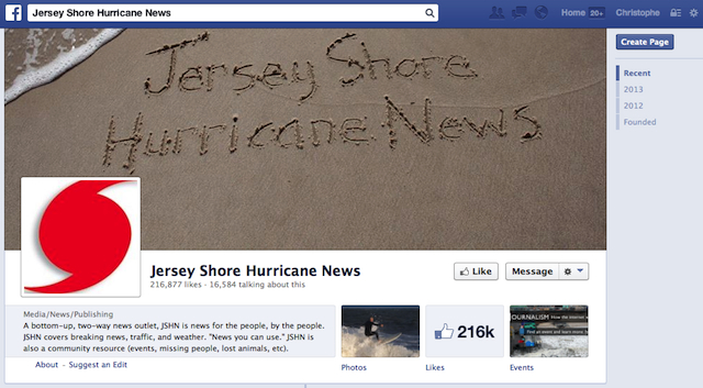 (CC) Jersey Shore Hurricane News
