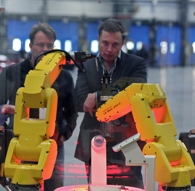 Elon Musk - (CC) Steve Jurvetson
