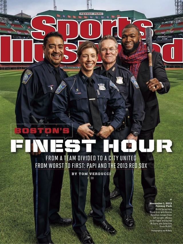 La couverture du dernier numéro de Sports Illustrated - (CC) Sports Illustrated