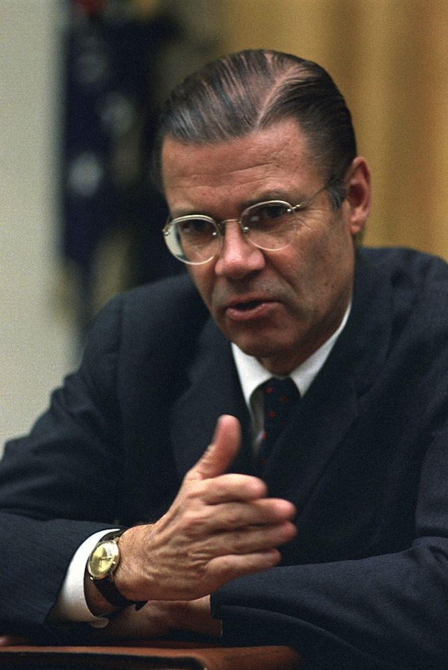 Robert McNamara - (CC) Yoichi R. Okamoto, White House Press Office