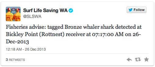 (CC) Surf Life Saving WA & Twitter