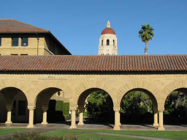 L'université de Stanford (Californie) - (CC) Christophe Lachnitt