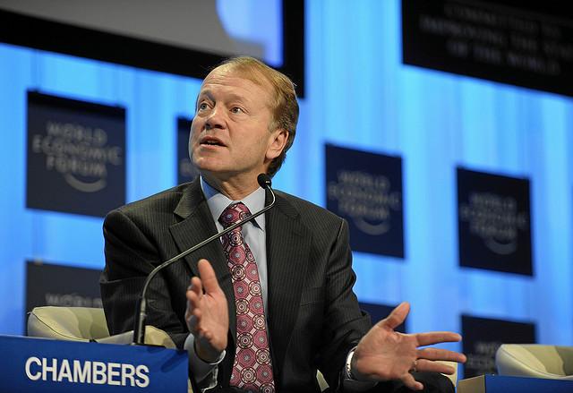 John Chambers - (CC) By World Economic Forum