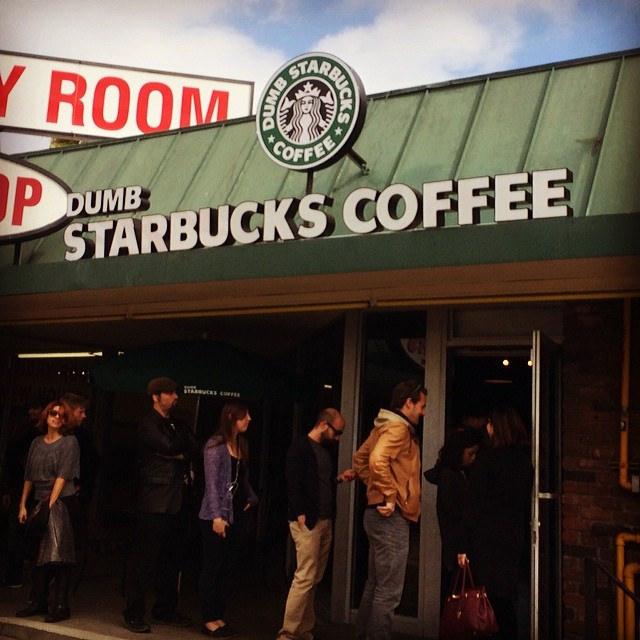 Dumb Starbucks - (CC) Mark Dienger