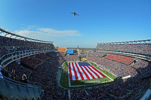 Gillette Stadium - (CC) US Air Force