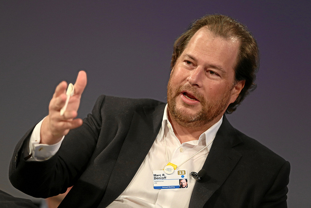 Marc Benioff - (CC) World Economic Forum