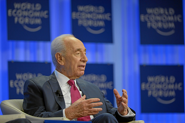 Shimon Peres - (CC) World Economic Forum