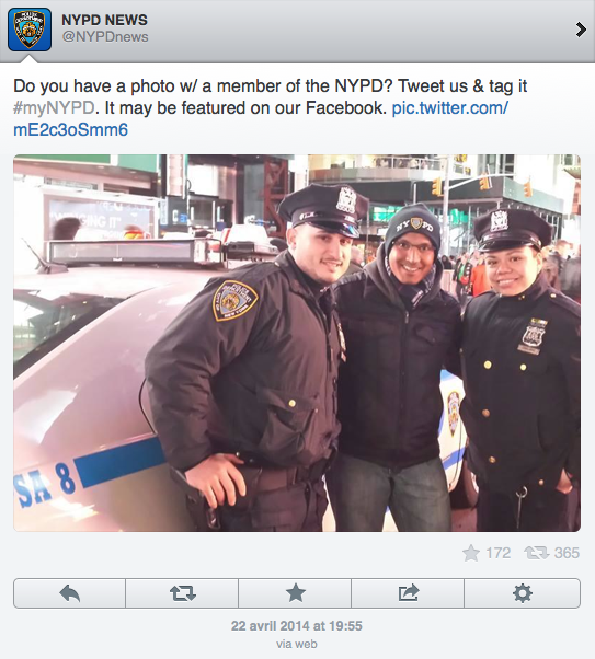 (CC) NYPD, Twitter