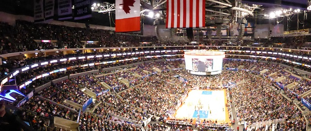 Un match des Clippers au Staples Center de Los Angeles - (CC) Christophe Lachnitt