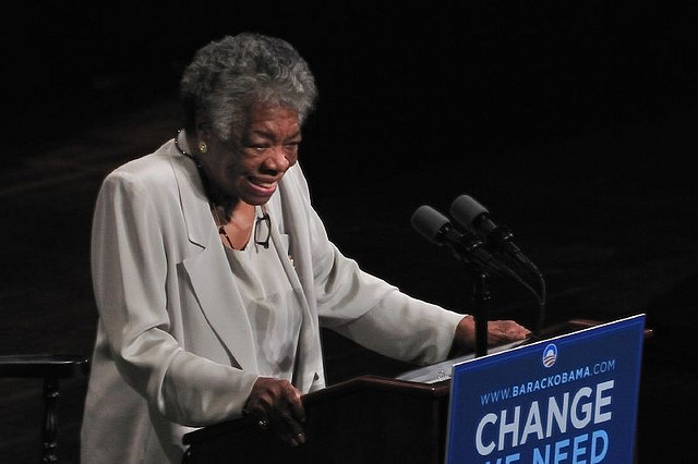 Maya Angelou - (CC) Talbot Troy