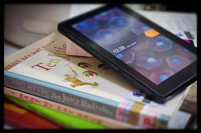La tablette électronique Kindle Fire d'Amazon - (CC) Zhao !