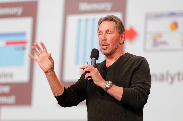 Larry Ellison - (CC) Oracle PR