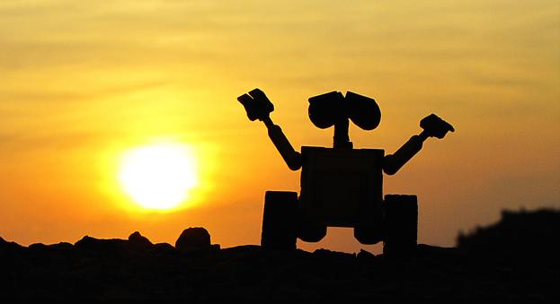 Wall-e, mon personnage préféré des films Pixar - (CC) Haceme un 14