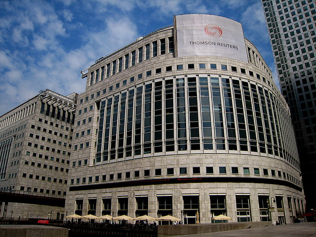 Le Siège mondial de Reuters à Londres - (CC) Andreas Hunziker