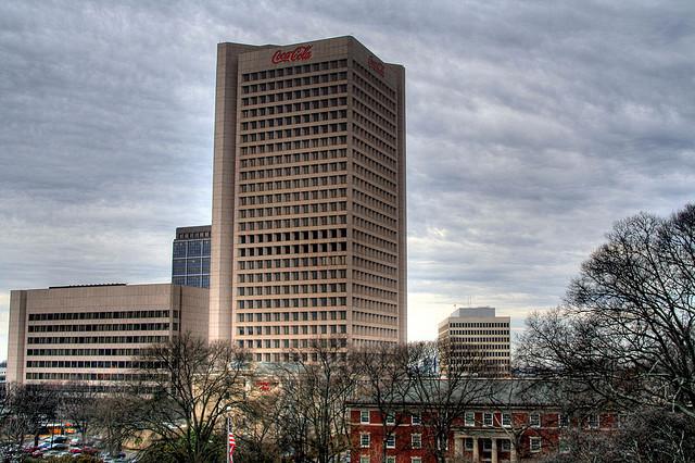 Le Siège de Coca-Cola à Atlanta - (CC) Hector Alejandro