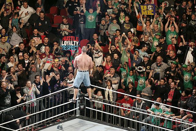 John Cena, l'une des stars de la WWE - (CC) Eva Rinaldi