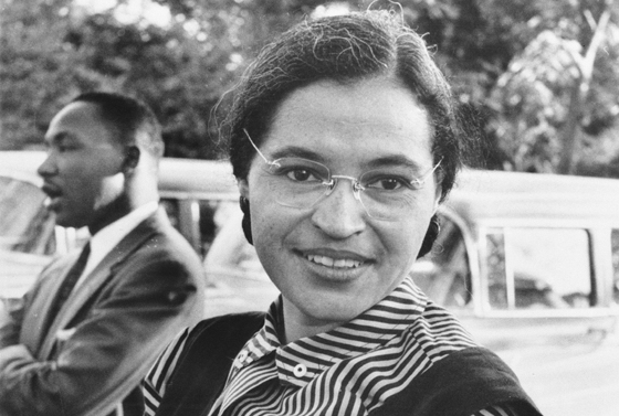 Rosa Parks - (CC) United States Information Agency