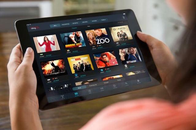Sling TV sur iPad - (CC) Sling TV