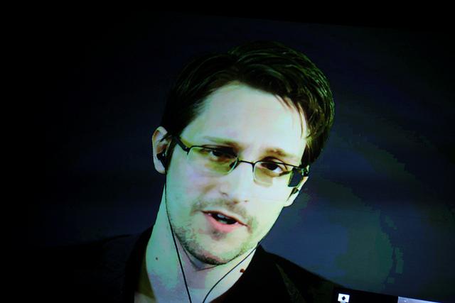 Edward Snowden - (CC) Gage Skidmore