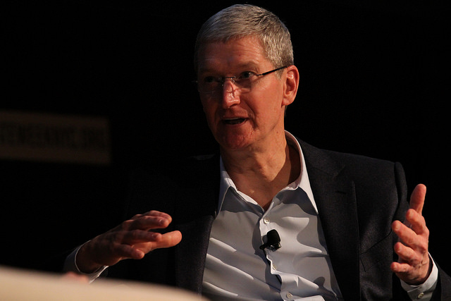 Tim Cook - (CC) The Climate Group