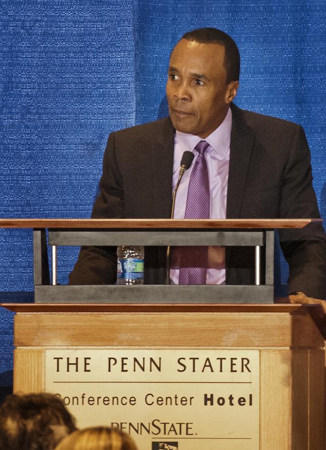 Sugar Ray Leonard - (CC) Penn State