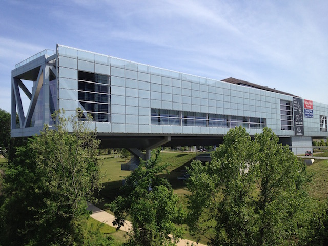 La Bibliothèque présidentielle de Bill Clinton à Little Rock (Arkansas) - (CC) Christophe Lachnitt