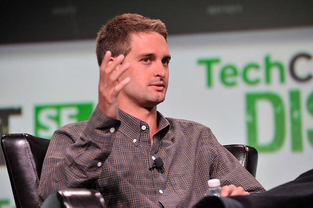 Evan Spiegel - (CC) TechCrunch