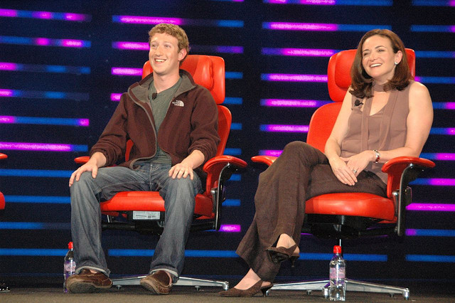 Mark Zuckerberg and Sheryl Sandberg - (CC) Dan Farber