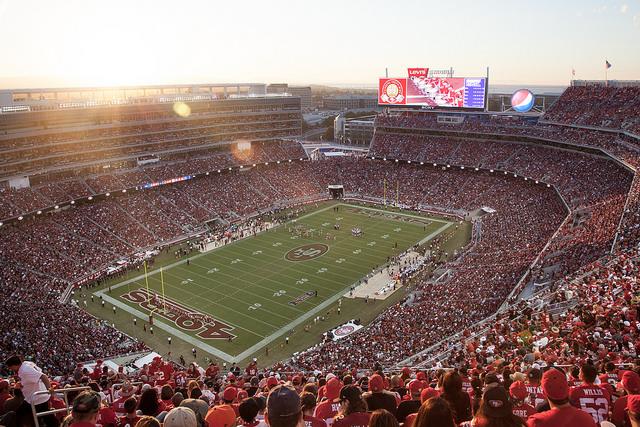 Le nouveau stade des 49ers, le Levi's Stadium, à Santa Clara - (CC) Matthew Roth