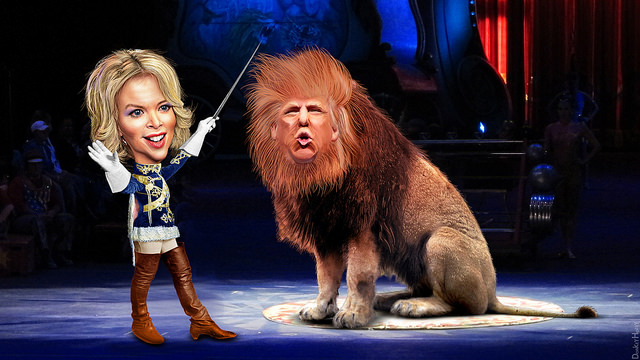 (CC) Megyn Kelly et Donald Trump