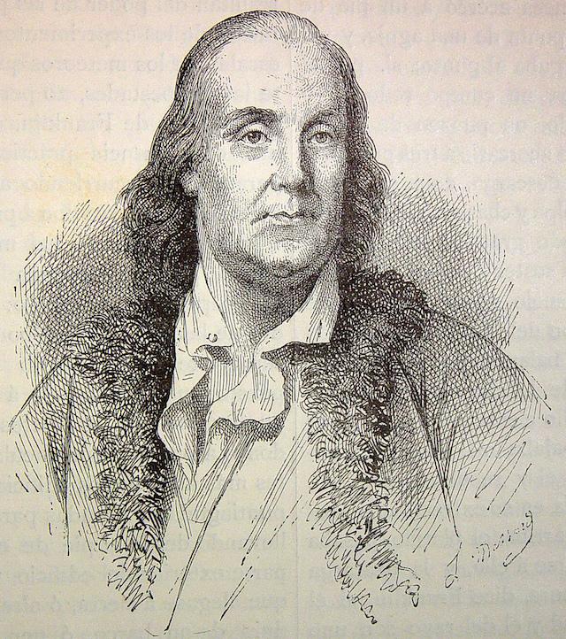 Benjamin Franklin - (CC) Fondo Antiguo de la Universidad de Sevilla