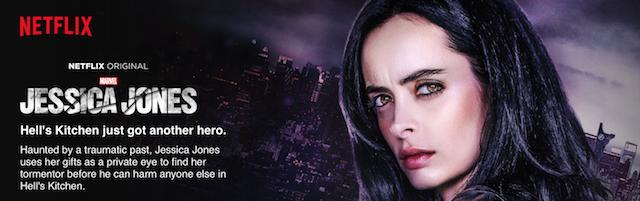 """Jessica Jones"", l'une des nouvelles séries de Netflix - (CC) Netflix.com"